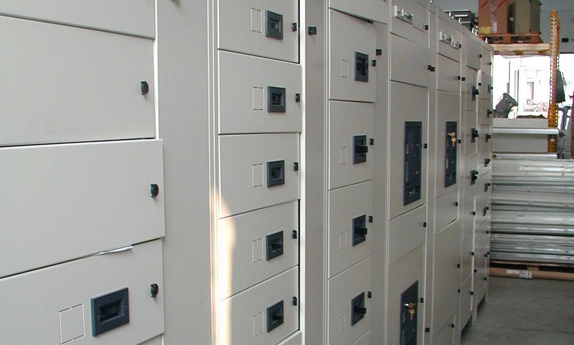 Impianti elettrici - automazioni - Quadri elettrici di distribuzione
